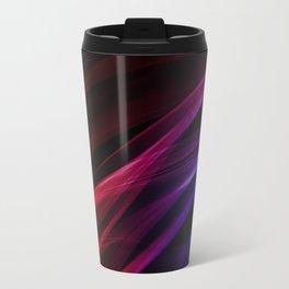 Colors of the rainbow - smoke abstract Travel Mug