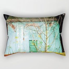 Nature finds the way inside... and outside... Rectangular Pillow