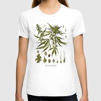 cannabis T-shirts featuring Cannabis by jbjart