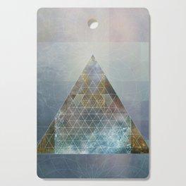Perseid - Contemporary Geometric Pyramid Cutting Board