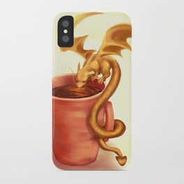 A drink for a dragon iPhone Case