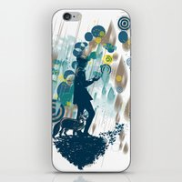 le petit prince iPhone & iPod Skins featuring le petit prince 2010 by frederic levy-hadida