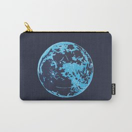 Turquoise Moon Carry-All Pouch