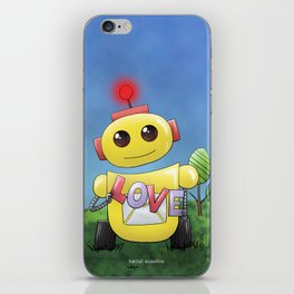 Happiness is knowing how to love iPhone Skin