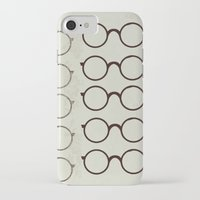 glasses iPhone & iPod Cases featuring (Glasses) by Mr and Mrs Quirynen