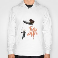 games Hoodies featuring Funny Games by inbloom design