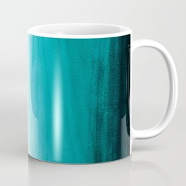 Ombre background in turquoise Coffee Mug