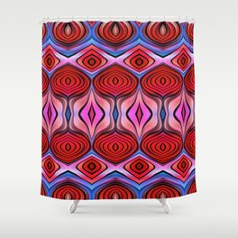 Abstract Beets Shower Curtain