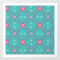 quilt Art Prints featuring Quilt by Bunhugger Design