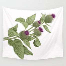 Flowers in the wild Wall Tapestry