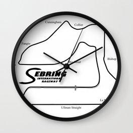 RennSport Shrine Series: Sebring Edition Wall Clock