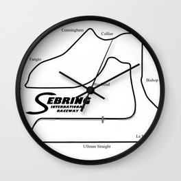 RennSport Shrine Series: Sebring Edition Wall Clock