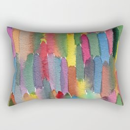 Watercolor tears Rectangular Pillow