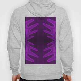 deep purple lily Hoody