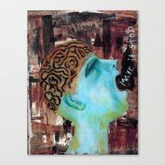 Make it Stop Canvas Print