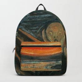 Classic Art - The Scream - Edvard Munch Backpack