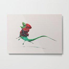 Frill-necked Lizard Metal Print