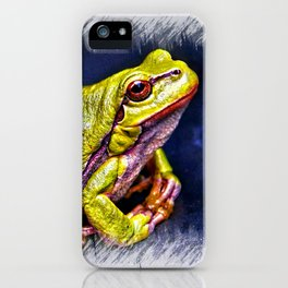 The InFocus Happy Frog Collection IX iPhone Case