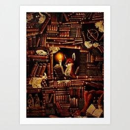 Media Overkill Art Print