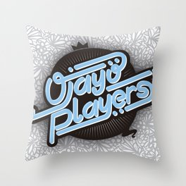 Ojayo Players logo 1 Throw Pillow
