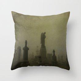 Night Fog Throw Pillow