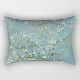 Vincent van Gogh - Almond Blossoms 1890 Rectangular Pillow