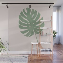 Monstera Leaf Wall Mural