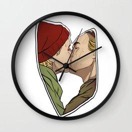 Evak Kiss Wall Clock
