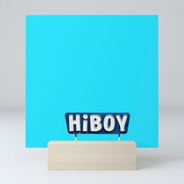 Hey girl hey Mini Art Print