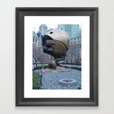The Sphere Framed Art Print