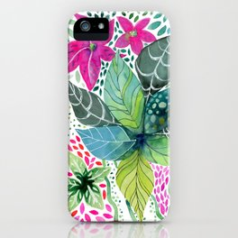 Leafy Tropical iPhone Case