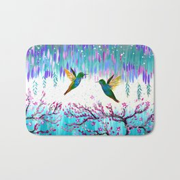 Hummingbirds in the Storm Bath Mat