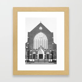 St. Paul's Episcopal Church - Lansing, MI   Framed Art Print