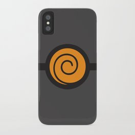 Naruto Suit iPhone Case