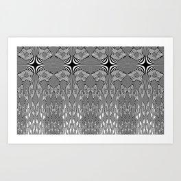 Colonade patterns Art Print