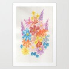 Wild Flowers Art Print