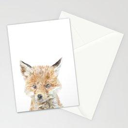 Baby Fox Kit, Nursery Set Stationery Cards