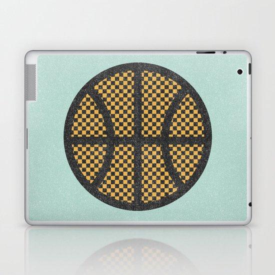 Op Art Basketball. Laptop & iPad Skin