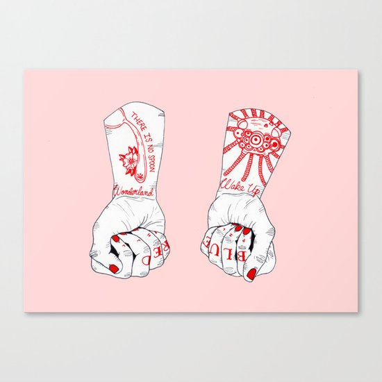Blue Pill or Red Pill Canvas Print
