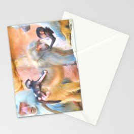 Baboons Stationery Cards