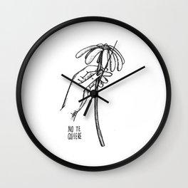 No te quiere Wall Clock