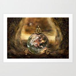 Master of the World Art Print