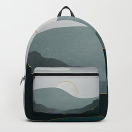 Minimal Landscape 08 Backpack