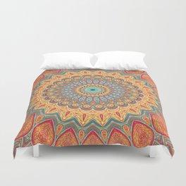 Jewel Mandala - Mandala Art Duvet Cover