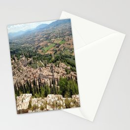 Assisi View Stationery Cards