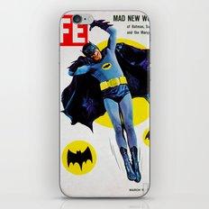 Adam West - Bat Man Life Magazine Cover iPhone & iPod Skin