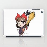 kiki iPad Cases featuring Chibi Kiki by Warbunny