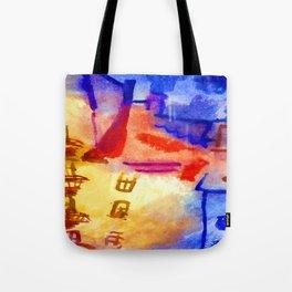 Paul Klee Sun in the Yard Tote Bag