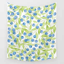 Blueberry Hill Wall Tapestry
