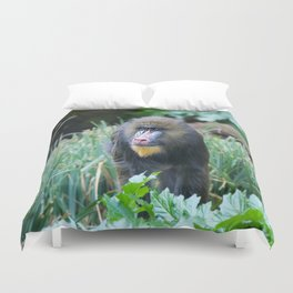 Baboon Duvet Cover